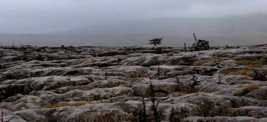 LIMESTONE PAVEMENT IN CRAP WEATHER