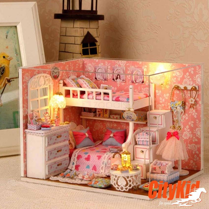 Mô hình nhà gỗ DIY Cute Room H-006