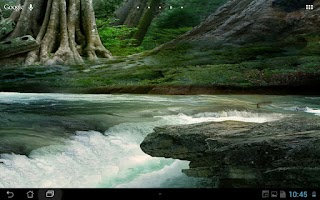 Screenshot of Real River Flow Live Wallpaper