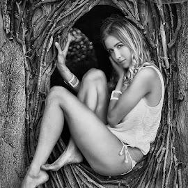 by Carl Sieswono Purwanto - Black & White Portraits & People