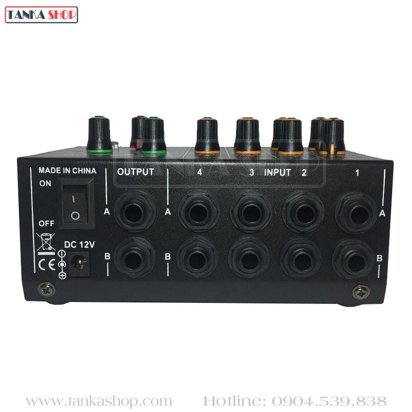 Bộ trộn âm thanh 4 kênh Mixer MIX-428E