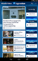 Screenshot of Tagesschau