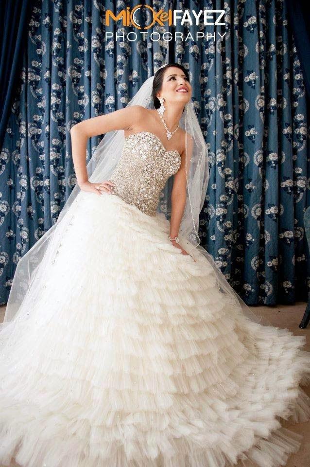 12df43c3305bc احدث الوان للفساتين زفاف 2015 ، فساتين زفاف كيوت للبنات 2015 ، فساتين زفاف  مغربية للعرايس
