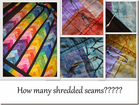Matthew's braid quilt shredding Feb 2015