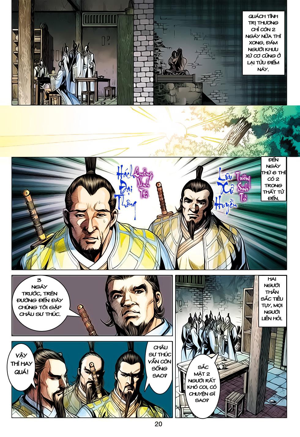 Anh Hùng Xạ Điêu anh hùng xạ đêu chap 61: thất tử chiến thiết thi trang 20