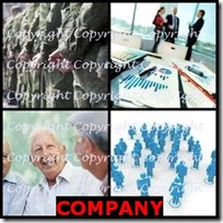 COMPANY- 4 Pics 1 Word Answers 3 Letters