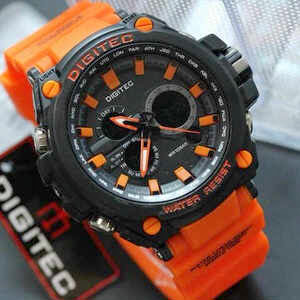 Jual jam tangan Digitec 2069 Orange