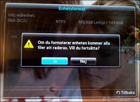 Koppla hårddisk till apple tv 3
