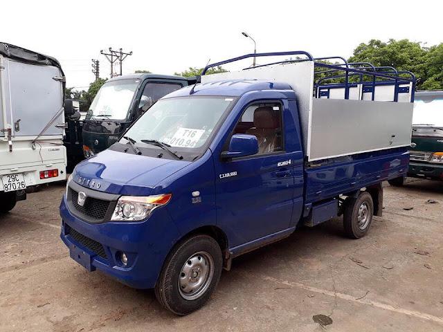 Xe tải Kenbo 990 Kg thùng bạt