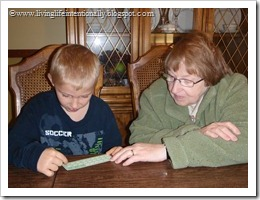 Counting farm animals with Grandma
