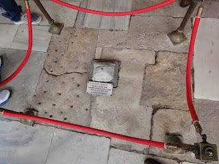 Palais Topkapi à Istanbul - pierre aux décapitations