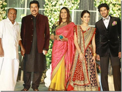 dulquar salman wedding reception1