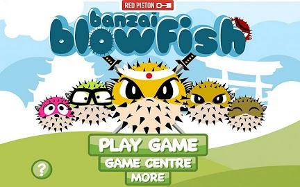 Banzai Blowfish Screenshot 1