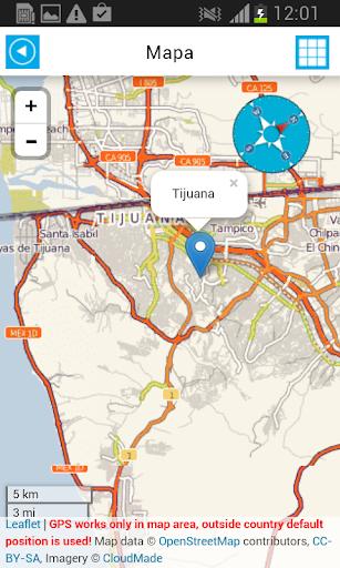 旅遊必備免費app推薦|メキシコオフライン地図&天気線上免付費app下載|3C達人阿輝的APP
