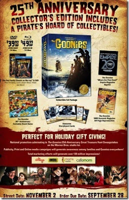 The-Goonies-25th-Anniversary-Collector-Edition-sell-sheet