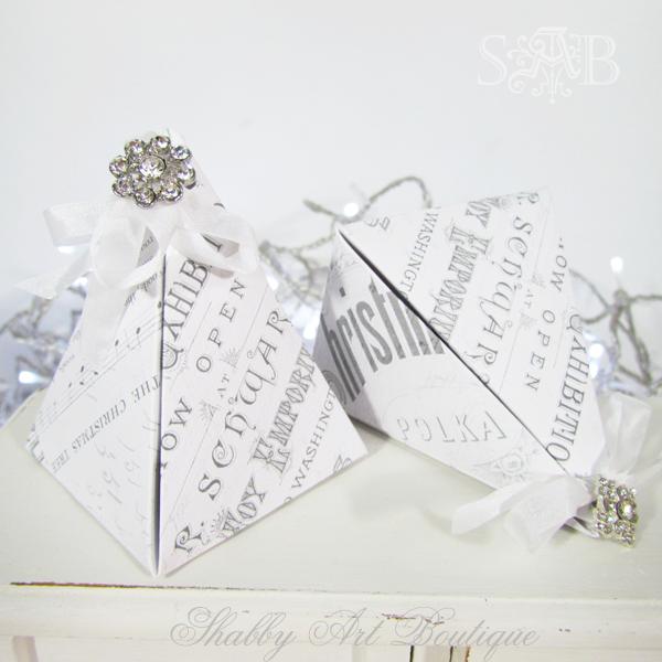 Shabby Art Boutique Pyramid Box 3
