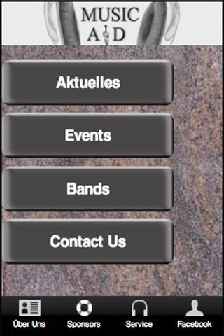 MusicAid- screenshot