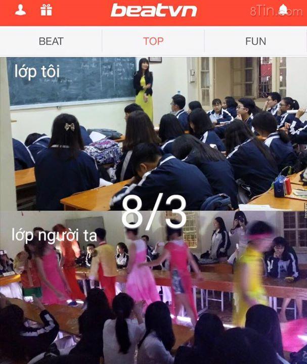 Những ngày gần đến 83 Chuyện trong trường học Khi ngày lễ
