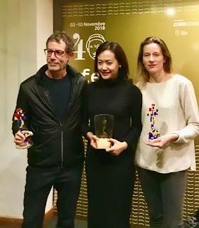 Suy nghĩ của diễn viên Hồng Ánh sau khi phim của cô đoạt giải Giải thưởng Lớn (Efebo D'Oro)