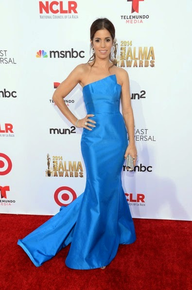Ana Ortiz attends the 2014 NCLR ALMA Awards