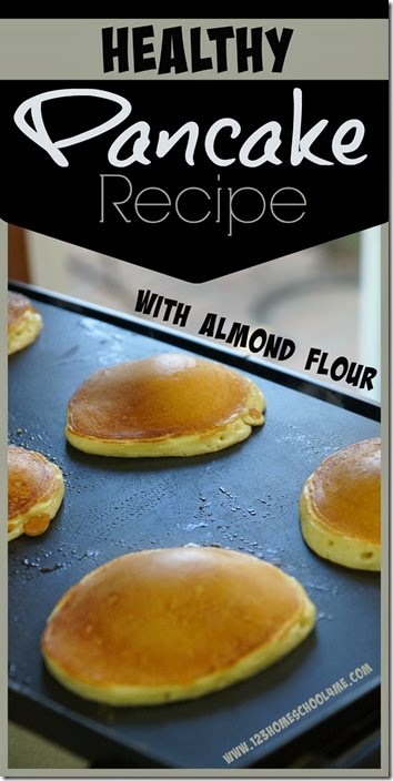 Healthy Pancake with Almond Flour for extra protein - This easy-to-make pancake recipe is not only yummy, but super healthy too!