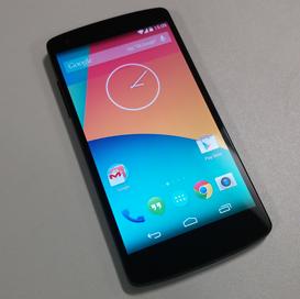 Google Nexus 5 - melhor smartphone 2013