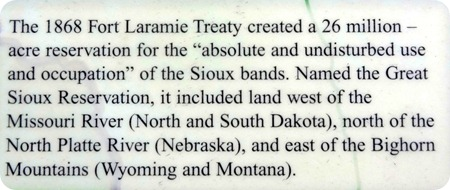 Fort Laramie Treaty info