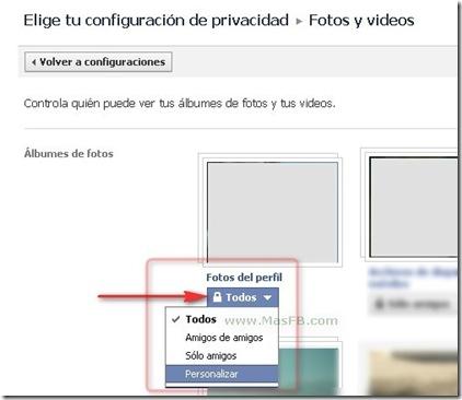 Editar fotos de perfil en Facebook