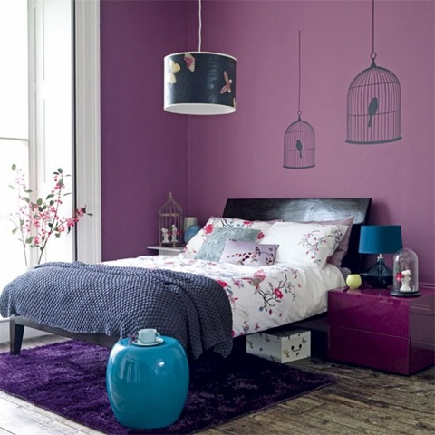 2012 Color Trends - Using Purple in Asian-Inspired Decor