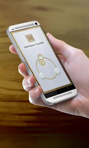 ゴールド天国 TouchPal テーマ