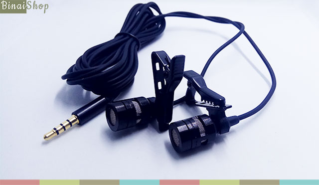 Koolsound Lavalier for moblie (2 mic)