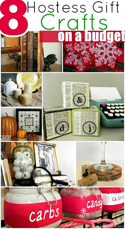 Hostess Gift Crafts on a Budget