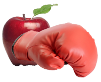 Apple boxing