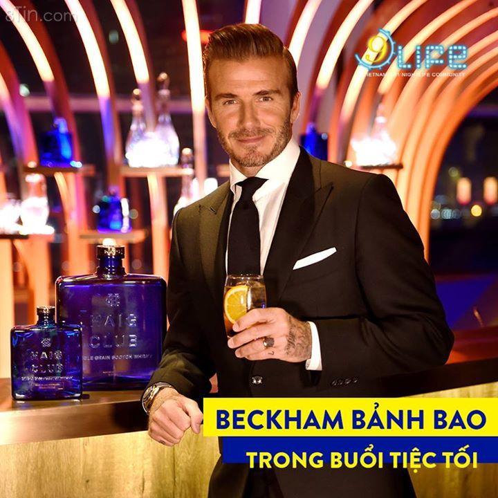 Bảnh bao trong bộ comlê đen, David Beckham tiếp tục hớp hồn