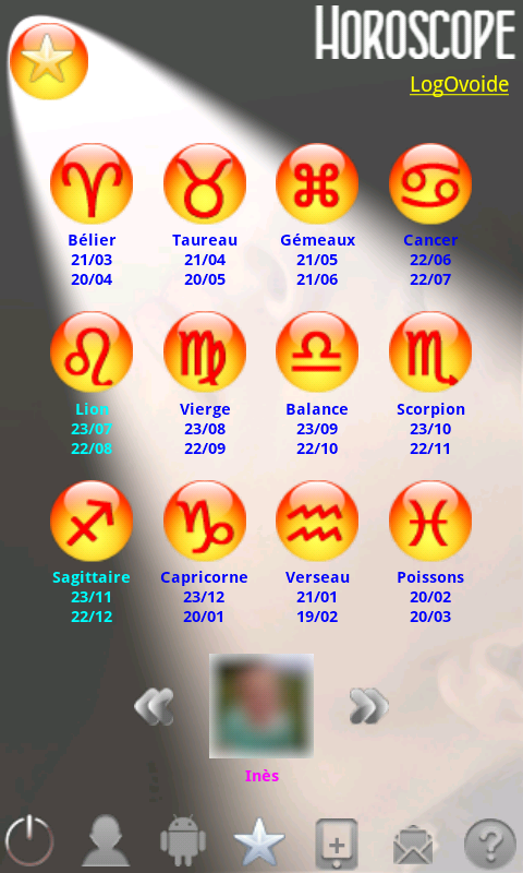 Horoscope - screenshot