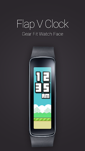 Flap V Clock for Gear Fit