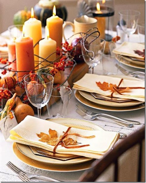 Thanksgiving Fall Table