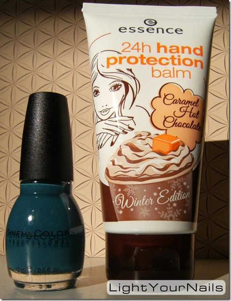 Essence Caramel Hot Chocolate, Sinful Colors Ocean Side