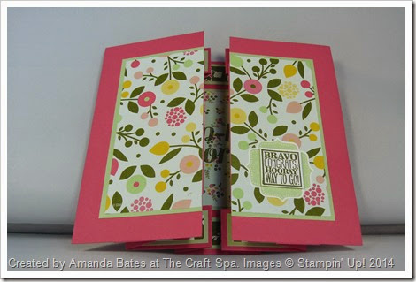 All Abloom Large Square Double Display Card , Amanda Bates at The Craft Spa (3)