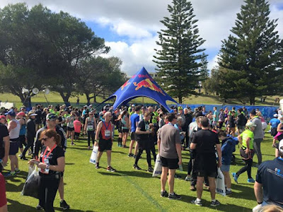 Now the celebrations can begin Lots of freebies food and smiles mycitytosurf