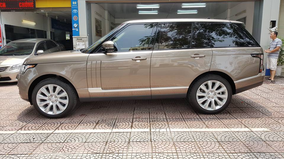 Xe Range Rover HSE Màu Trắng 04