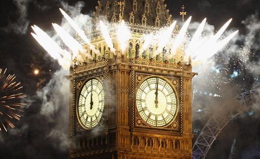 Когда встречают Новый год в мире
