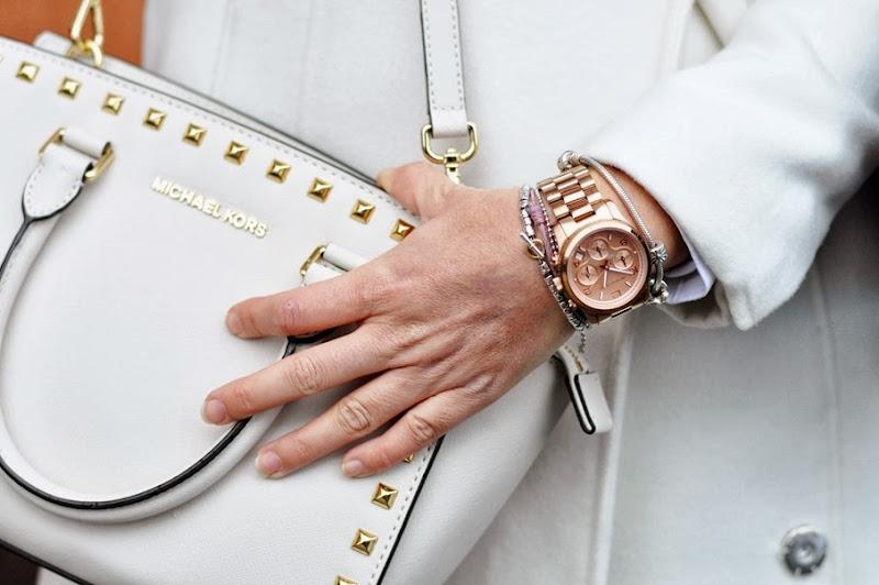 outfit, ottaviani necklace, michael kors bag and watch, italian fashion bloggers, fashion bloggers, street style, zagufashion, valentina coco, i migliori fashion blogger italiani