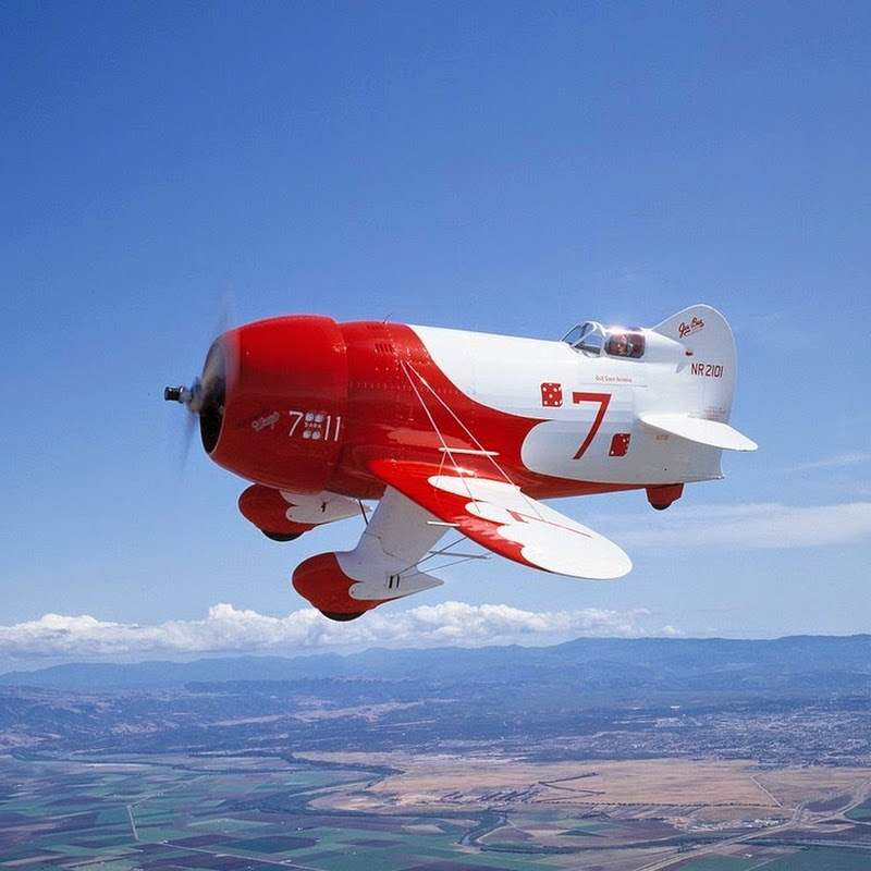 Gee Bee Model R: A Cute But Dangerous Airplane