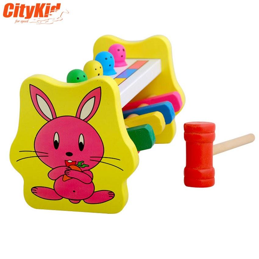 Bộ gõ gỗ cho bé Percussion Toys
