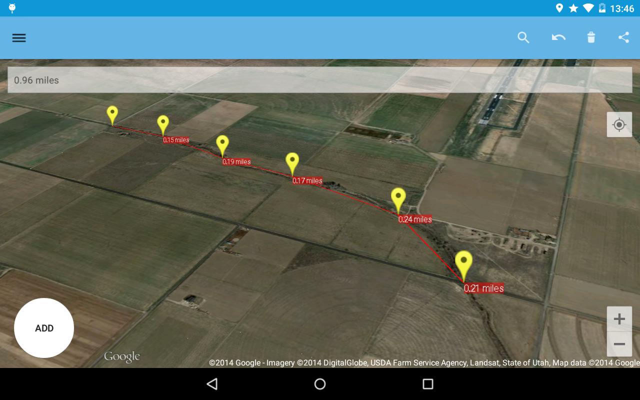 AndMeasure (Area & Distance) - screenshot