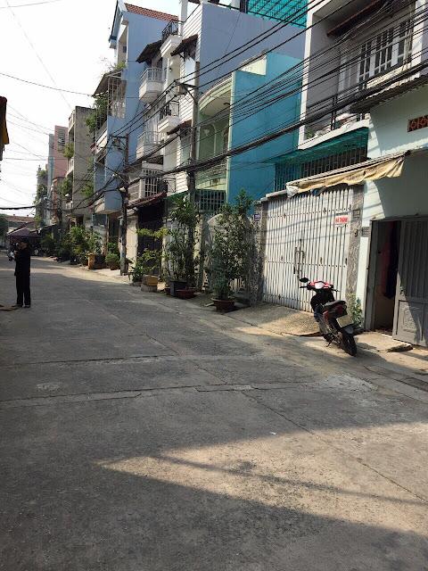 Bán nhà hẻm 710 một sẹc Lũy Bán Bích Phường Tân Thành Quận Tân Phú 1