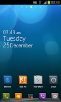 Screenshot of HD Design Theme GO Launcher EX
