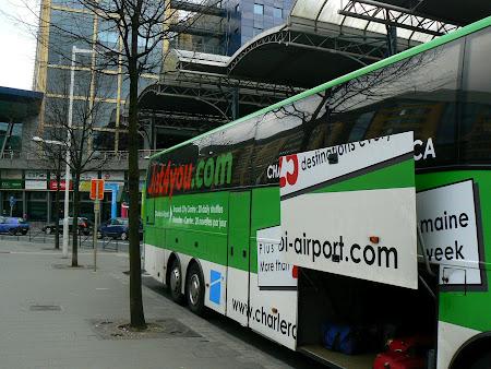 Autobuz aeroport Charleroi - Bruxelles