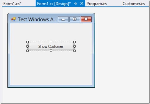 sample-windows-application-shared-project